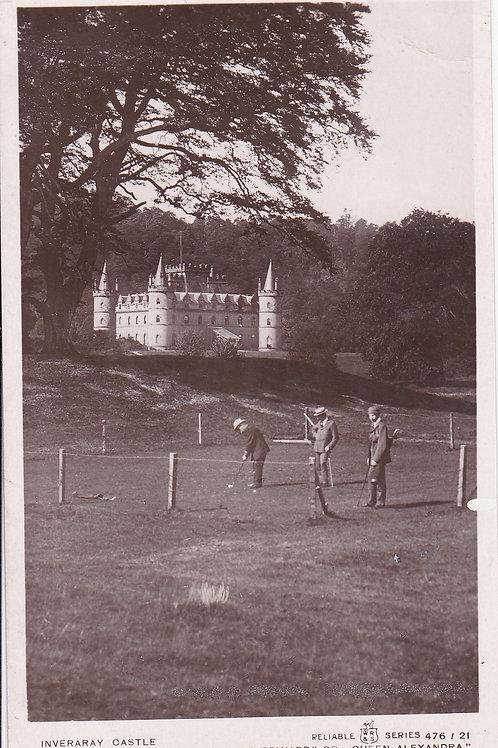Inveraray Golf Course & Castle C.1905-10 Ref.1595