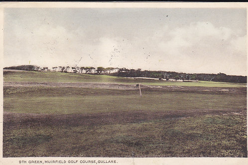 SOLD>Ref.1717.Muirfield Golf Links 9th Green Ref.1717 C.1947