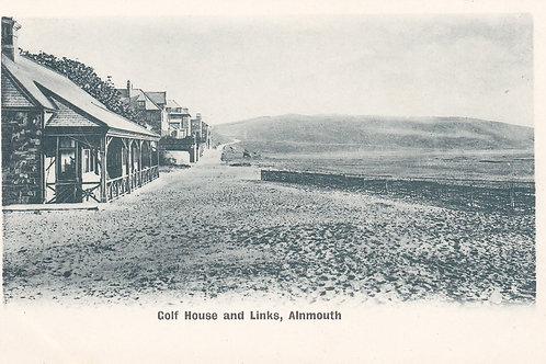 Alnmouth Village Club.Ref 727. C. 1902-04
