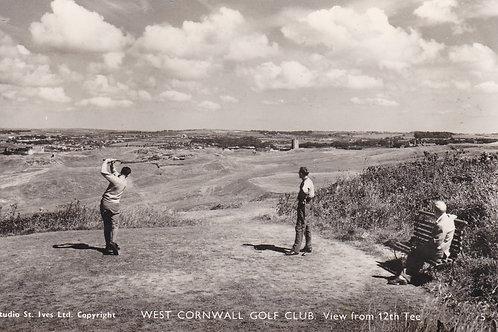 West Cormwall Golf Links Ref.2184a C.1950-60