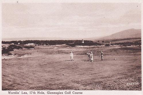 Gleneagles.Warslin'Lea 17th Hole Ref.993 C.1920s
