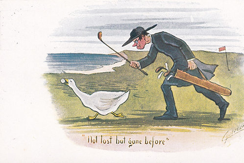 Comic Golf PC Cynicus Ref.1926 C.1902-04
