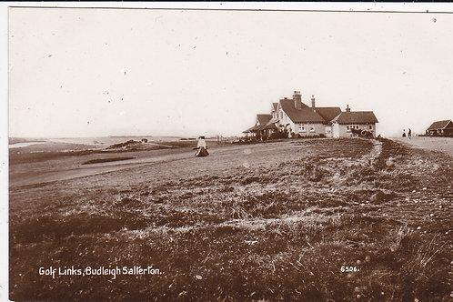 Budleigh Salterton Links Ref.1354 C.1905-15