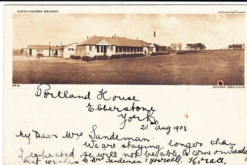 Ganton Golf Links Railway PC.Ref.575 C.1903