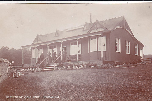 Serpentine(Kendal) Golf Pavilion C.1905