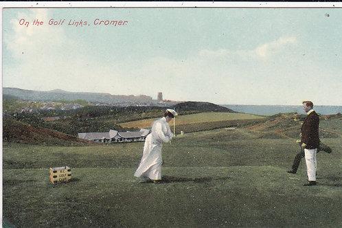 Cromer Golf Links C.1910-15 Ref.208