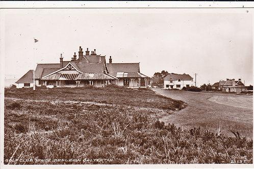 Budleigh Salterton Club House Ref.1355 C.1920s?