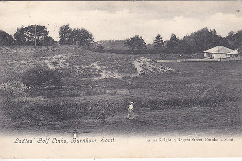 Burnham Ladies Pavilion & Links Ref.878 C.1913