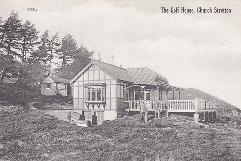 Church Stretton Golf Club House.Ref 121. C.1909