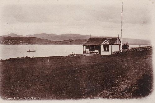Gourock Golf Pavilion.Ref 346 C.1916