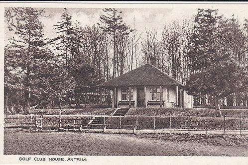 Antrim Golf Pavilion C.Pre 1914 Ref.1602