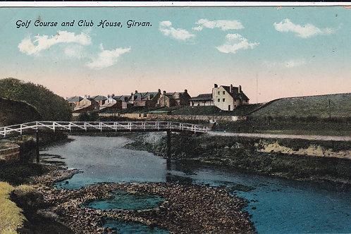 Girvan Golf Links & Club House Ref.1024 C.1915