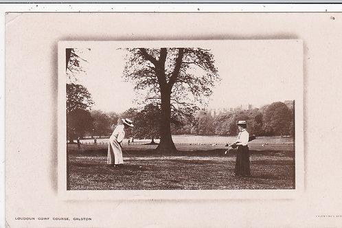 SOLD> Ref.1528 Loudoun Golf Course,Galston Ref.1528 C.1911