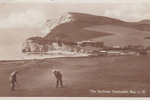 Freshwater Bay Golf Links I.O.W. C.1929 Ref.2002