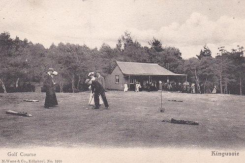 Kingussie Golf Pavilion  Ref.1073a C.Pre 1914
