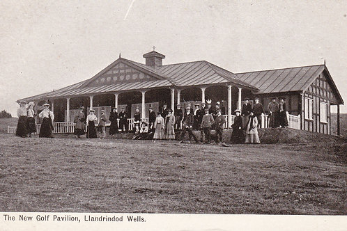 Llandrindod Wells New Golf Pavilion Ref.882 C.1906