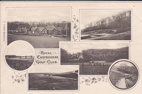 Easrbourne Golf Club Ref 523 C.Early 1900s