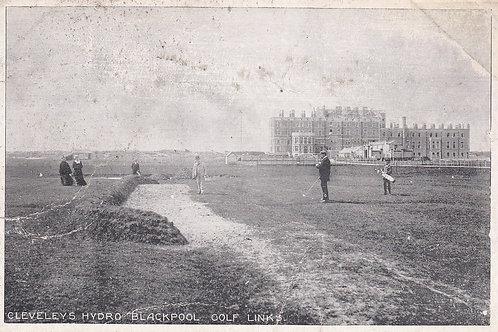 Cleveleys Golf Links,Blackpool.Ref 356. C.1911