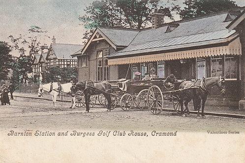 Burgess Golf Club House & Barnton Station Ref.2623 C.pre 1905