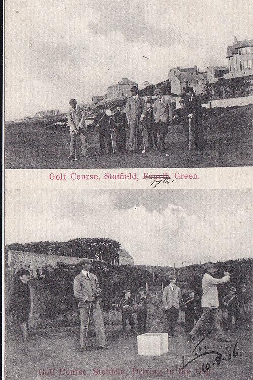 Stotfield W.Fernie v H.Kirkcaldy Ref.457 C.1906