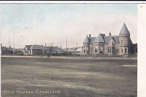 SOLD>Ref.1530.Carnoustie Golf Club Houses Ref.1530 C.1904