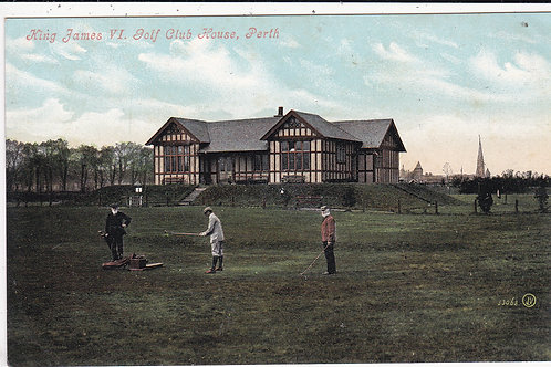 King James VI Golf House Ref.1547 C.Pre 1914