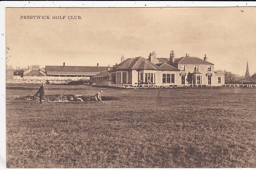 Prestwick (Old) Golf House Ref.137 C.Ea.1900s