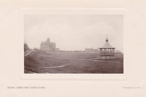 Nairn Links & Bandstand.Ref 699. C.1910-18