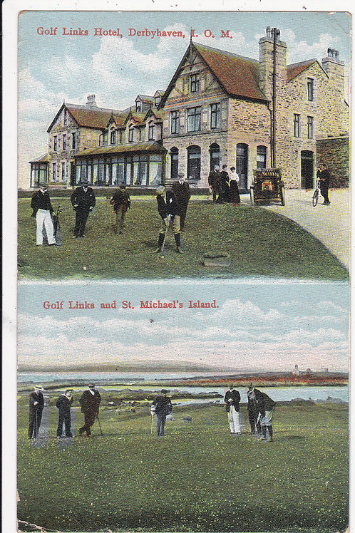 SOLD>Ref.625.Castletown Golf Links & Hotel  .Ref 625.C.1908