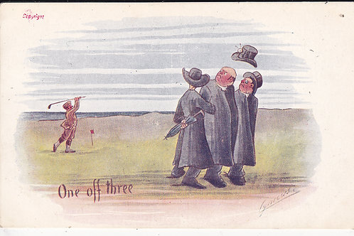 Cynicus Comic Golf PC Ref.898 C.1903-5