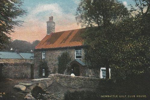 Newbattle Golf Club House, Dalkeith Ref.2502 C.Ea 1900s