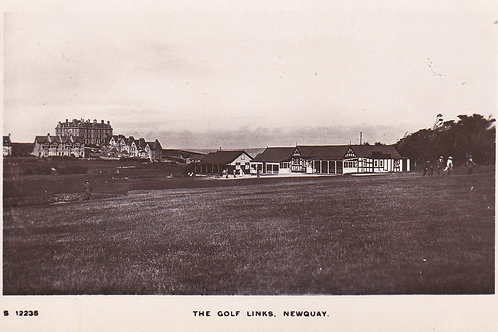 Newquay Golf Links,Cornwall.Ref 820.C.1910-18