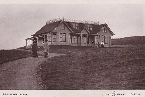 Moffat Golf Club House Ref.1713 C.1908