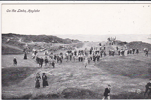 "Hoylake.On the Links Ref 235 C.1913 ""Open"""