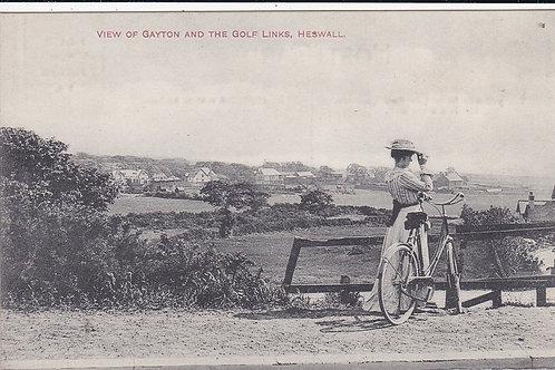 Heswall Golf Links,Gayton Ref.1503 C.Pre 1914