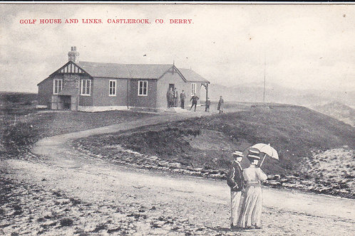 SOLD>Ref.466.Castlerock Golf House Ref 466 C.Early 1900s