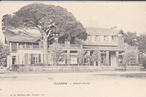 Cannes Golf House C.Ea.1900s Ref.1683