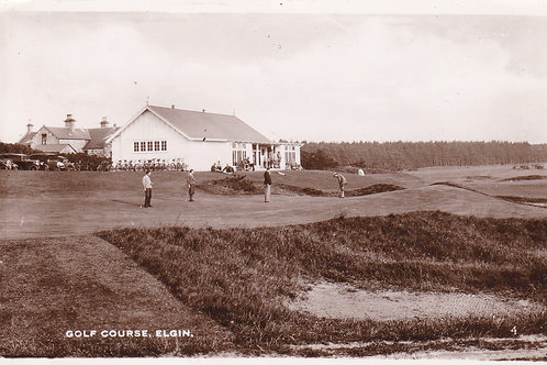 Elgin Golf Links & Pavilion Ref.1856 C.1941