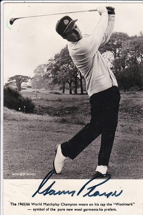 Gary Player,Wentworth Ref.180 C.1966