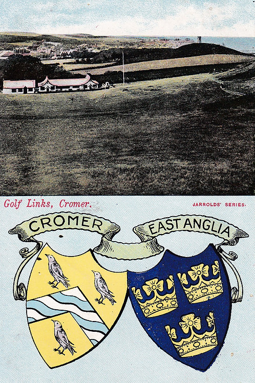 Cromer Golf Links  Ref.050a C.Pre 1914