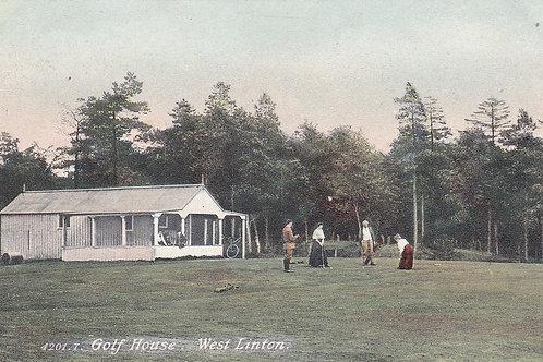 West Linton Golf House Ref.1109 CPre 1914