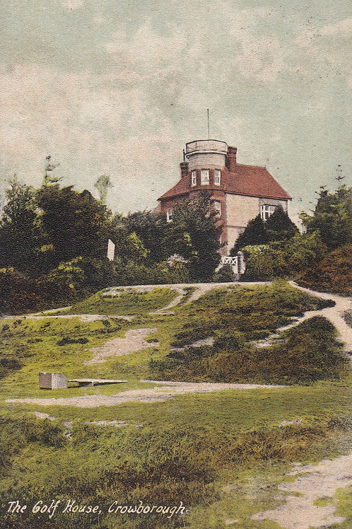 Crowborough Golf House (Rear) &  Links,Ref.2198a C.1908