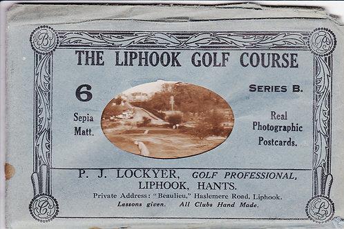 Liphook Golf Course, Set Ref.658 C.1930s