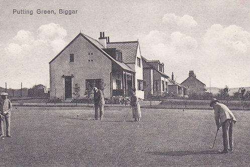 Biggar Golf Club House.C.Ea 1900s Ref 860.