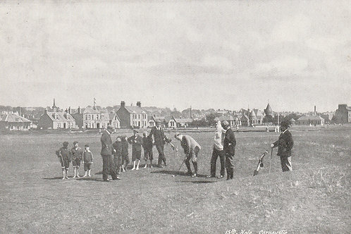Carnoustie Golf Links Ref.2811 C.ea 1900