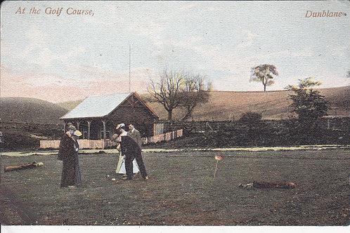 Dunblane Golf Pavilion Ref.1204 C.Pre 1914