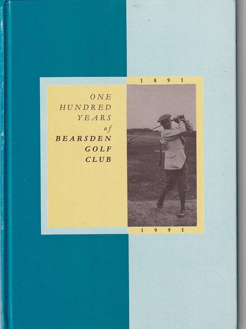 Bearsden Golf Club History Ref.GB. 945 C.1891-1991