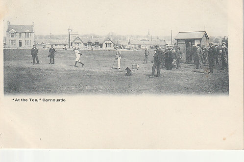 Carnoustie.At the Tee Ref.2284a C.1903