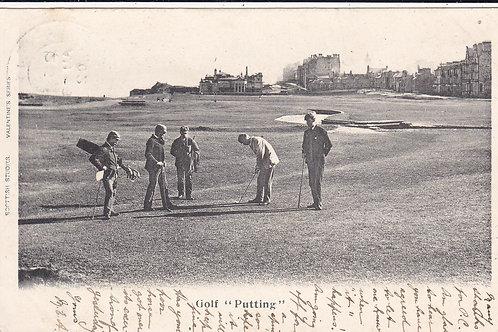 Hugh Kirkcaldy at St Andrews C.1902-5 Ref.305