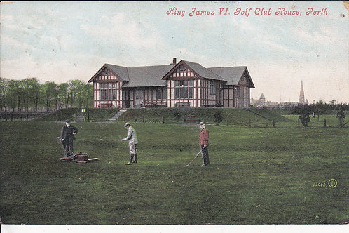 King George Vl Golf Pavilion Ref.893 C.1906